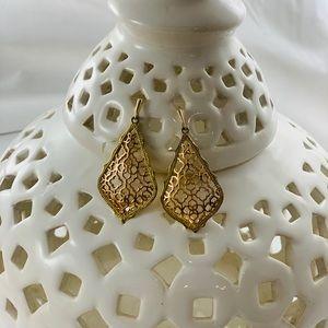 Kendra Scott Addie Gold/Rose Gold Earrings